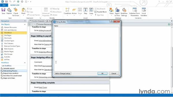 Adding comments: SharePoint Designer 2013: Custom Workflows