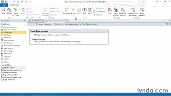 Understanding workflow variables: SharePoint Designer 2013: Custom Workflows