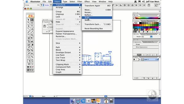 Scale Trick: Illustrator CS2 Essential Training