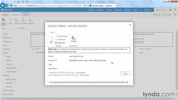 Deploying a workflow in SharePoint: SharePoint Designer 2013: Custom Workflows