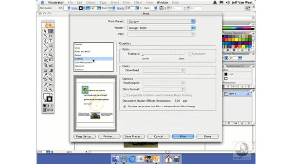 Printing: Illustrator CS2 Essential Training