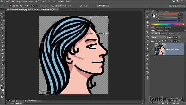 287 Exporting an illustration as a universally supported PNG file: Deke's Techniques