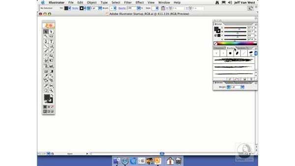 Startup: Illustrator CS2 Essential Training
