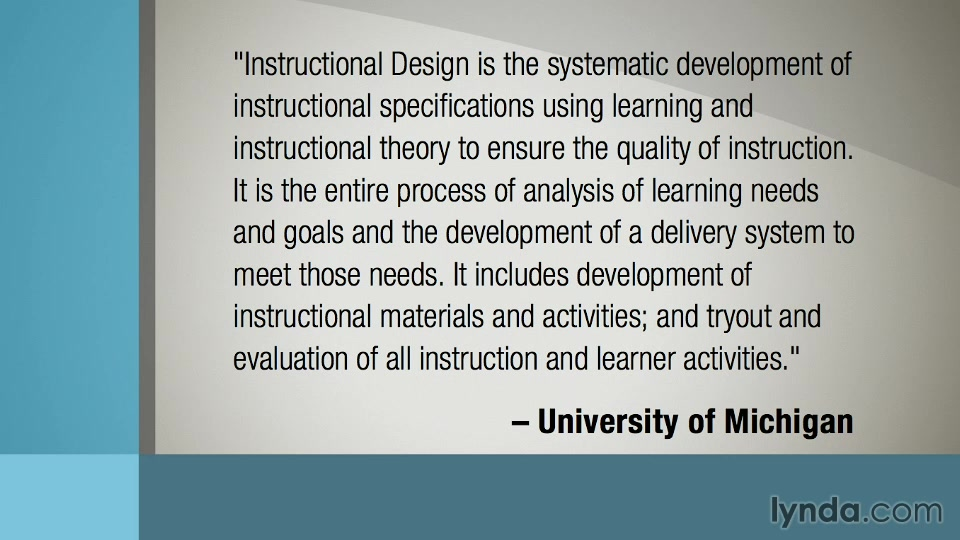 Educational And Instructional Design Online Courses Training And