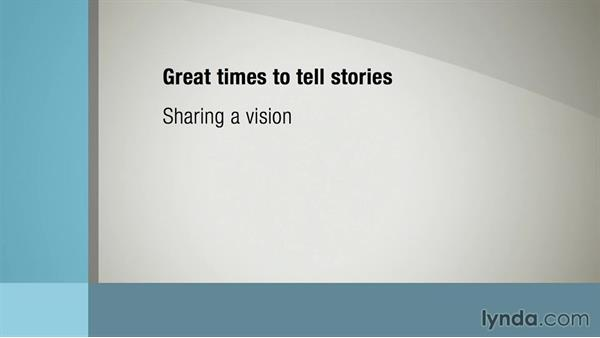 When to tell stories: Leading with Stories