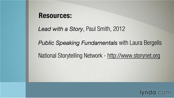Next steps: Leading with Stories