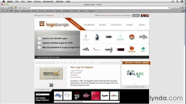 What is LogoLounge?: LogoLounge: Shapes and Symbols in Logo Design