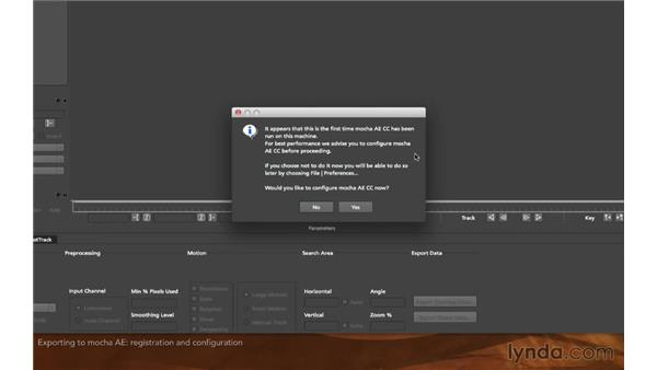 Exporting to mocha AE: Screen Replacement with After Effects and mocha AE
