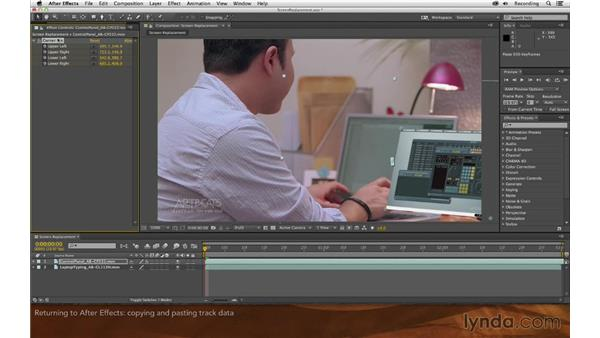 Returning to After Effects: Screen Replacement with After Effects and mocha AE
