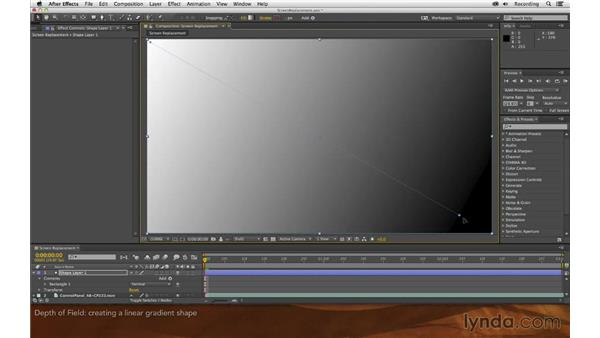 Simulating depth-of-field focus: Screen Replacement with After Effects and mocha AE