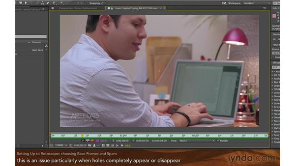 Setting up: Screen Replacement with After Effects and mocha AE