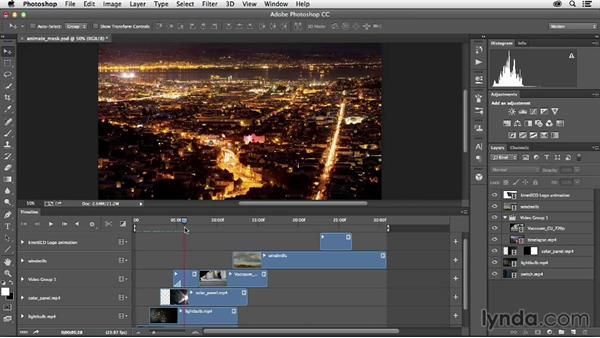 Welcome: Creative Video Compositing with Photoshop