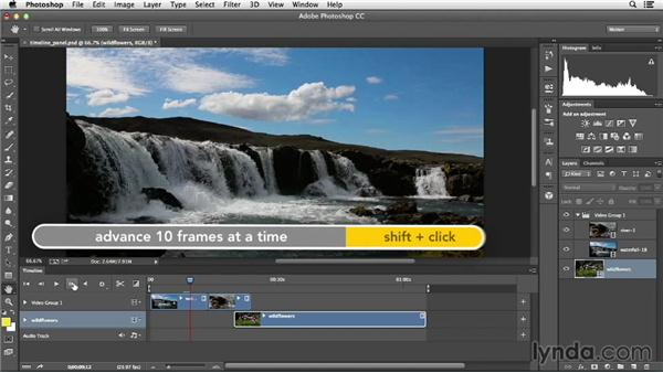 Getting familiar with the Timeline: Creative Video Compositing with Photoshop