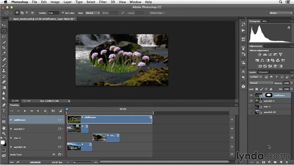 Using layer masks: Creative Video Compositing with Photoshop