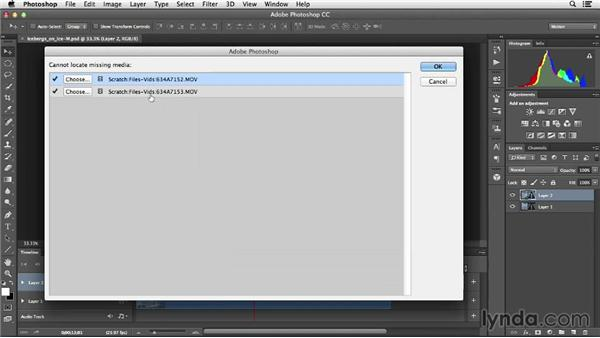 Creating a file structure for video projects: Creative Video Compositing with Photoshop
