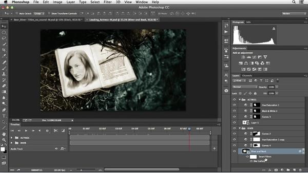 Editing strategy for composite shots: Creative Video Compositing with Photoshop