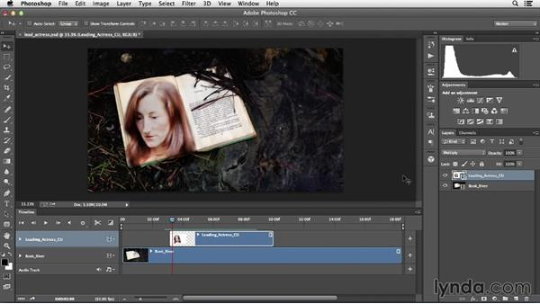 Using blend modes and masks to combine video clips: Creative Video Compositing with Photoshop