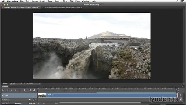 Previsualizing composites: Creative Video Compositing with Photoshop