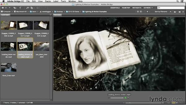 Shooting for consistent lighting and motion: Creative Video Compositing with Photoshop