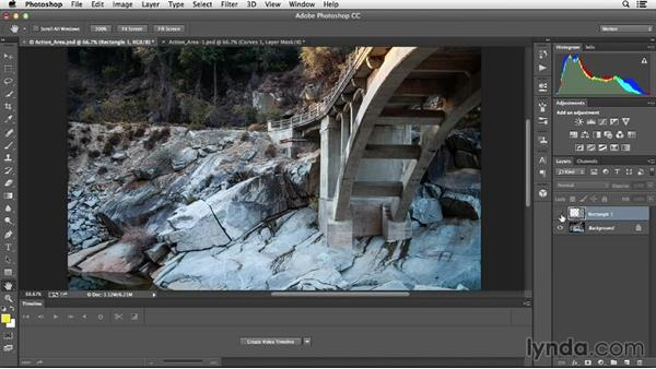 "Identifying the ""action area"" in a scene: Creative Video Compositing with Photoshop"