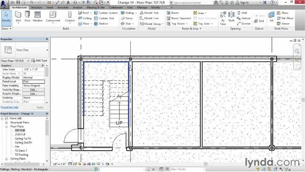 Identifying and changing wall types: Revit for Interior Design: Interior Walls