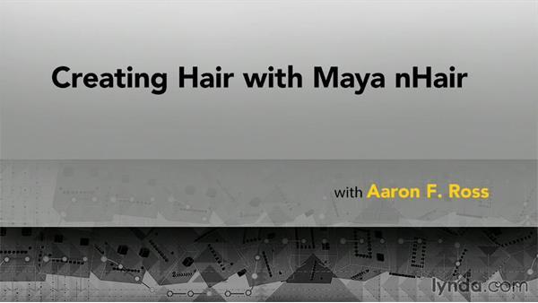 Goodbye: Creating Hair with Maya nHair