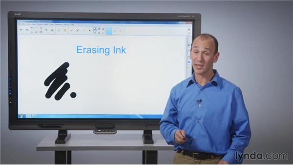 Working with your notes: SMART Board Essential Training