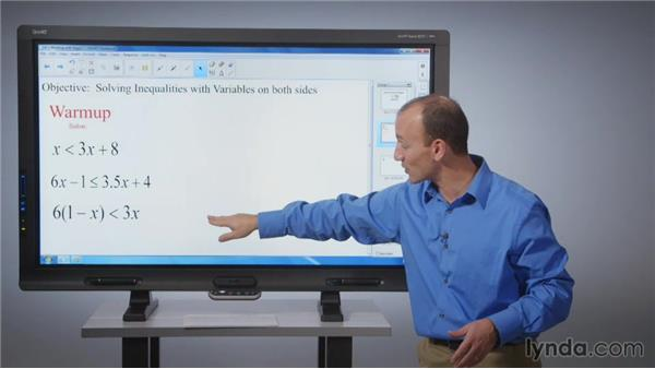 Working with pages: SMART Board Essential Training