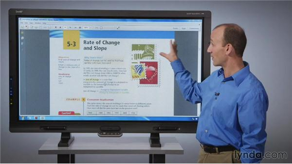Using the Capture tool: SMART Board Essential Training