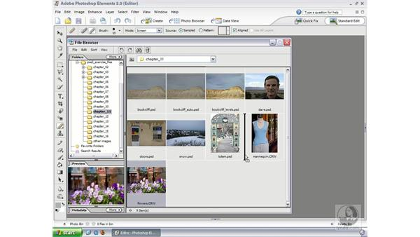Reusing Raw Settings: Photoshop Elements 3 Essential Training