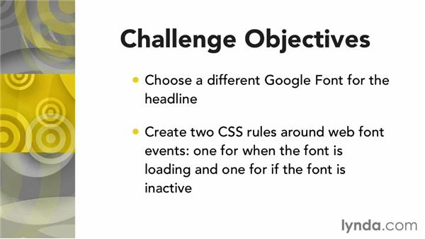 Challenge: Handling your own web font events: Responsive Typography Techniques
