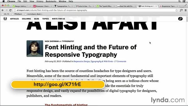 Next steps: The future of responsive typography: Responsive Typography Techniques