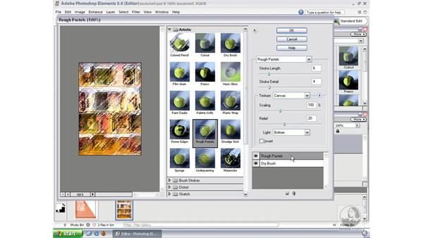 Filter Gallery: Photoshop Elements 3 Essential Training
