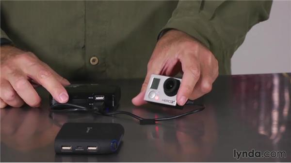 Using external power: Shooting with the GoPro HERO: Fundamentals