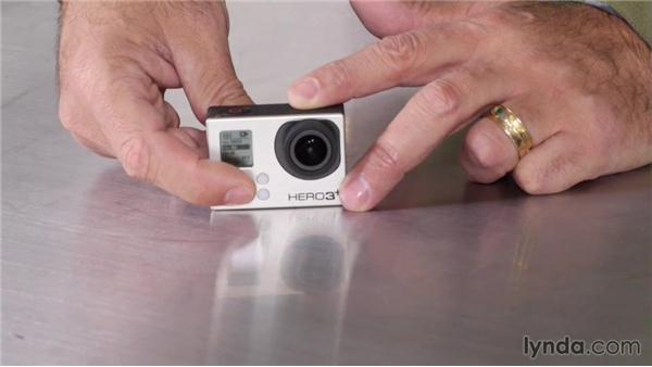 An overview of button controls: GoPro HERO and HERO3+: Shooting with the GoPro HERO: Fundamentals