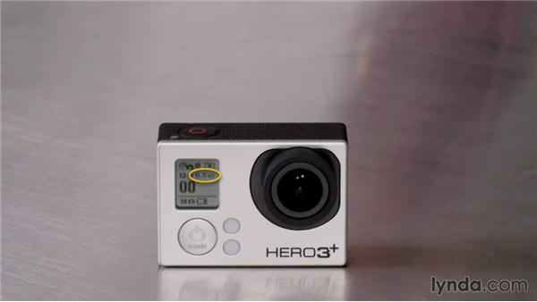 Understanding the LCD status screen: Shooting with the GoPro HERO: Fundamentals