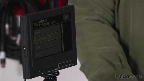 Using an external monitor to view menus: Shooting with the GoPro HERO: Fundamentals