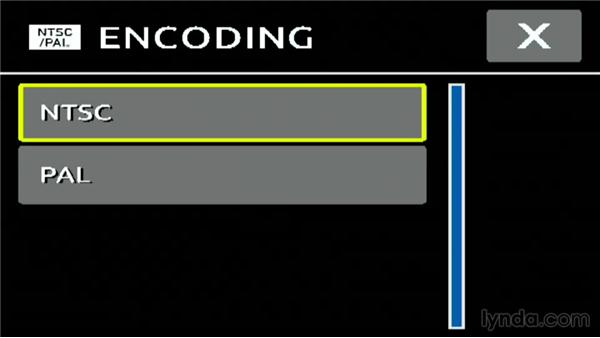 Choosing NTSC or PAL recording standards on a GoPro3 or 3+: Shooting with the GoPro HERO: Fundamentals