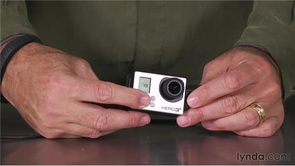 Accessing Video mode on a GoPro3 or 3+: Shooting with the GoPro HERO: Fundamentals