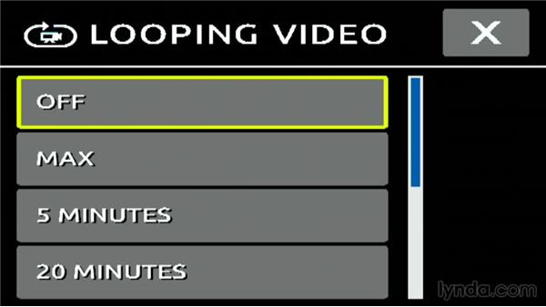 Looping video when recording on a GoPro3 or 3+: Shooting with the GoPro HERO: Fundamentals