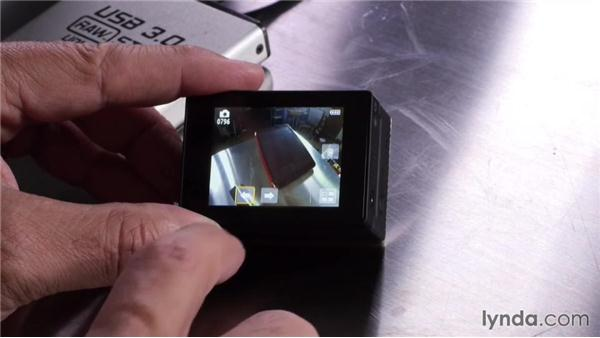 Attaching a LCD Touch BacPac to see your images: Shooting with the GoPro HERO: Fundamentals