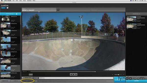 Transferring to a computer: Shooting with the GoPro HERO: Fundamentals