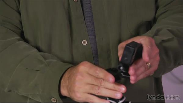 The GoPro tripod mount: Shooting with the GoPro HERO: Fundamentals