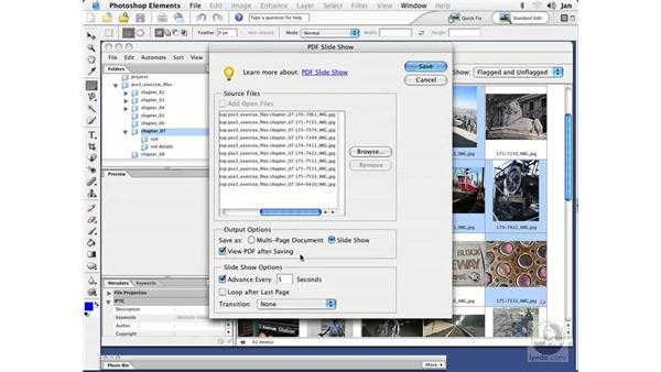 Mac Slideshows (Mac): Photoshop Elements 3 Essential Training