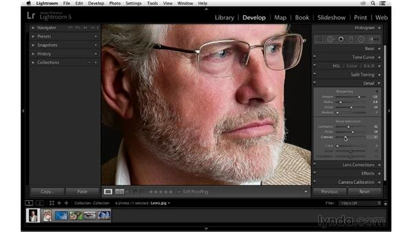 Reducing luminance and color noise: Photoshop CC for Photographers: Sharpening