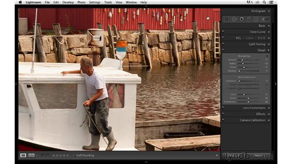 Improving details in an outdoor photograph: Photoshop CC for Photographers: Sharpening