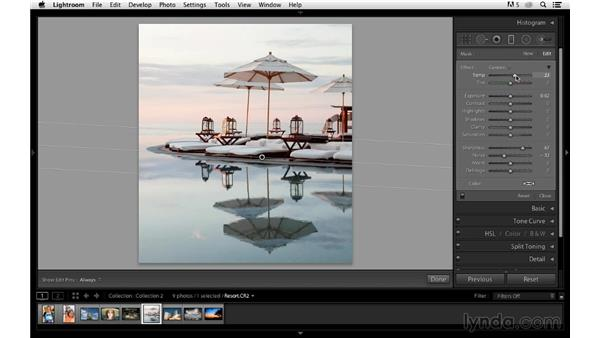 Improving details with the Graduated filter: Photoshop CC for Photographers: Sharpening