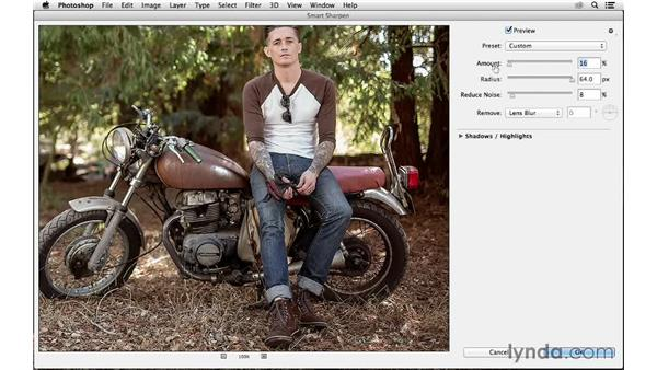 Using Smart Sharpen in an unlikely way for midtone contrast: Photoshop CC for Photographers: Sharpening