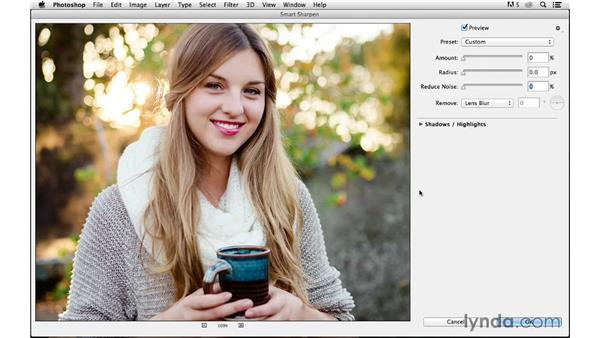 Final output sharpening from Photoshop for print: Photoshop CC for Photographers: Sharpening