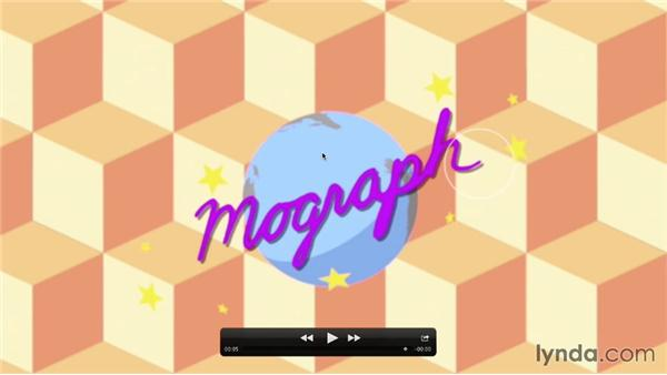 Looking at the animation goal: Mograph Techniques: Mixing 2D and 3D with After Effects and CINEMA 4D